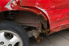 Broken car Royalty Free Stock Images