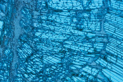 Broken car windshield made of laminated glass. Texture. Background royalty free stock image