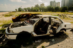 Broken cars Royalty Free Stock Photography
