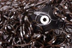 Broken cassette Stock Image