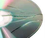 Broken CD Stock Images