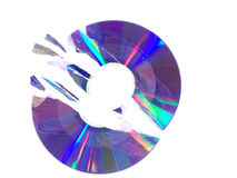 Broken cd Stock Photos