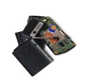 Broken cellphone Stock Photos