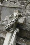 Broken cemetery cross Royalty Free Stock Image