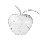 Broken ceramic apple Stock Image