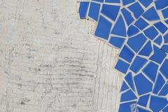 Broken ceramic floor tiles Stock Images