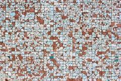 Broken ceramic tiles background Royalty Free Stock Photos