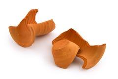 Broken ceramic vase Royalty Free Stock Photo