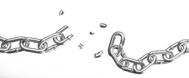 Free Broken Chain Stock Photo - 14076180