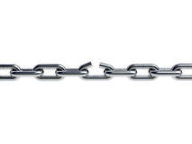 Broken Chain Royalty Free Stock Photos
