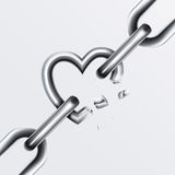 Broken Chain Set 2 Royalty Free Stock Images