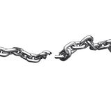 Broken Chains Stock Image
