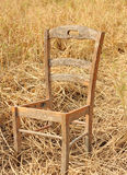 Broken chair Royalty Free Stock Image
