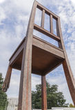 Broken Chair Monument in Geneva Stock Images