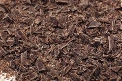 Broken chocolate Stock Photo