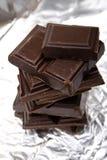 Broken chocolate Royalty Free Stock Image