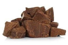 Broken chocolate bar Royalty Free Stock Image