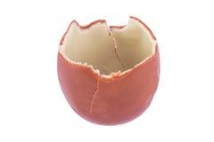 Broken Chocolate Egg Stock Photo