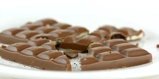 Broken chocolate Royalty Free Stock Photo
