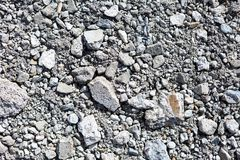 Chunks of Concrete texture. Broken chunks of concrete lay on the ground. This is a nice reference texture Stock Photo