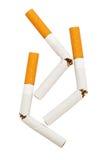 Broken cigarette Stock Image