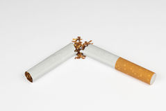 Broken Cigarette Royalty Free Stock Image
