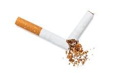 Broken cigarette Stock Photography