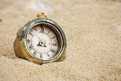 Broken clock Royalty Free Stock Images