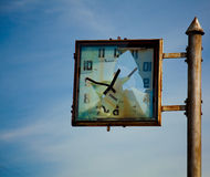 Broken clocks Royalty Free Stock Photos
