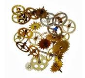 Broken clockwork mechanism Stock Photo