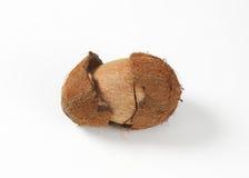 Broken coconut Stock Images