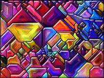 Broken by Color Stock Photo