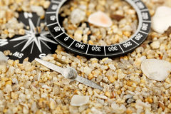 Broken compass Royalty Free Stock Photo