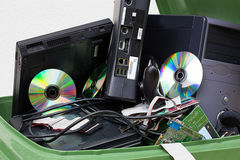 Broken computer appliance Stock Photo