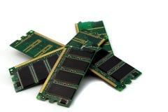 Broken computer memory Stock Image