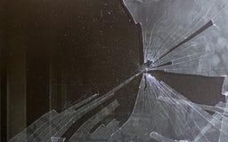 Broken computer screen Stock Images