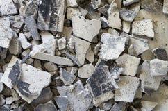 Broken Concrete Royalty Free Stock Photography