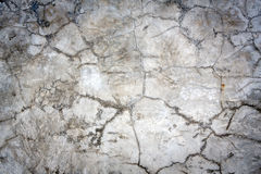 Broken concrete wall Stock Photography
