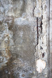 Broken concrete wall texture Royalty Free Stock Image