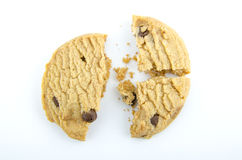 Broken Cookie Royalty Free Stock Photography