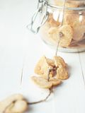 Broken Cookie on cord from Jar Royalty Free Stock Images
