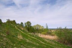Broken country. Central Russia, Ryazan region stock photography