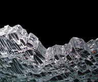 Broken crystal Royalty Free Stock Photography