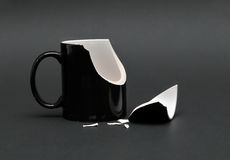 Broken Cup royalty free stock photo