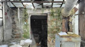 broken dörr Royaltyfria Foton