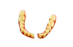 Broken denture Royalty Free Stock Photos