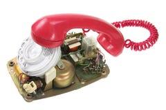 Broken Dial Phone Stock Image