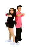 Broken Doll Hip Hop Duet Stock Images