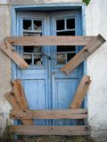 Broken door Royalty Free Stock Images