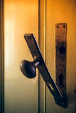 Broken doorknob Royalty Free Stock Photos
